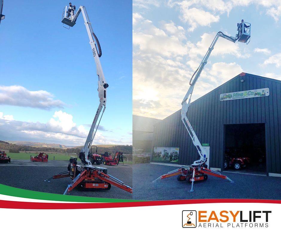Easy-lift piattaforme cingolate