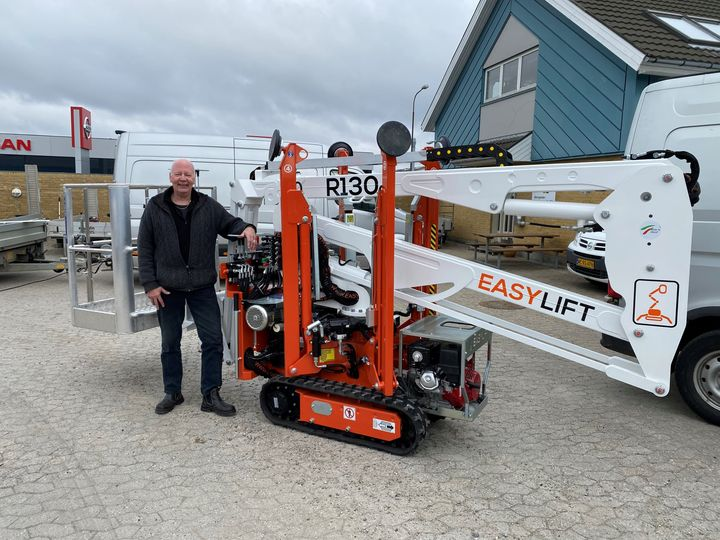 Easy Lift is increasingly present on the Danish market