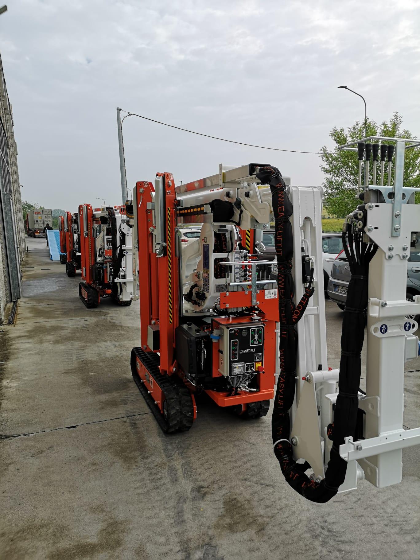 Easy Lift al fianco delle compagnie elettriche in Cina