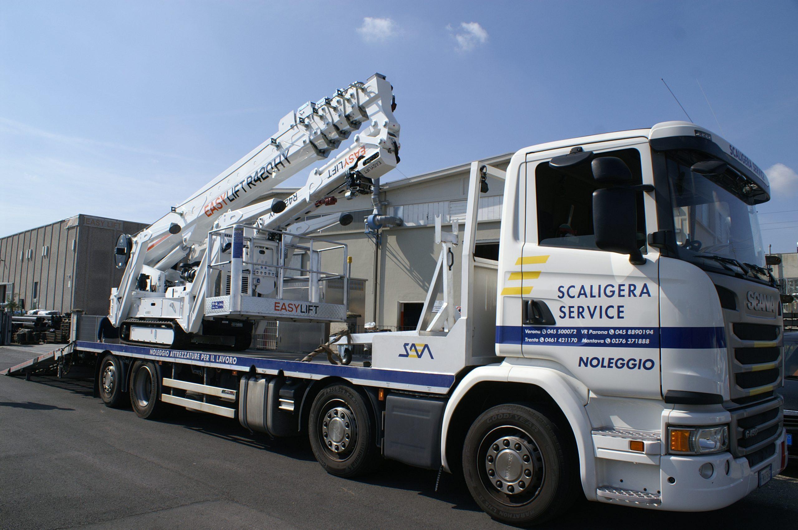 Up Rent de Scaligera Service choisit le haut de gamme Easy Lift !